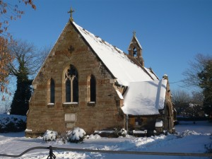 St Philip's in the snow